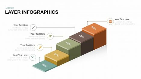 3D Layer Infographics Free Powerpoint And Keynote Template