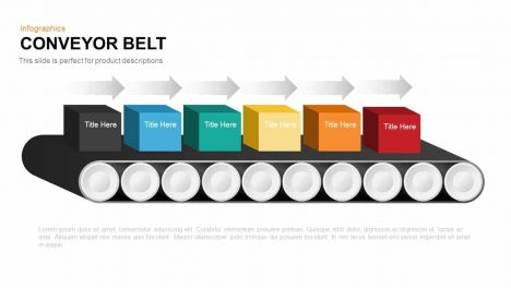 Conveyor Belt Powerpoint and Keynote template