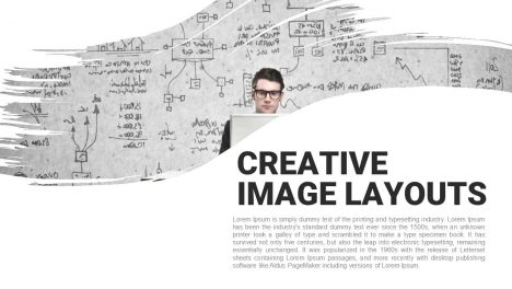 Creative Image Layouts Powerpoint