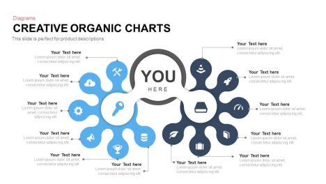 Creative Organic Chart PowerPoint Template and Keynote