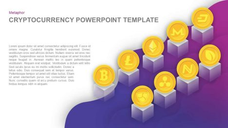 Cryptocurrency PowerPoint Template and Keynote