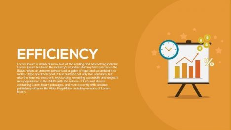 Efficiency Metaphor Powerpoint and Keynote Template