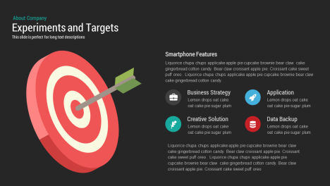 Experiments and Target Template for PowerPoint and Keynote Slide