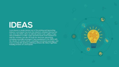 Ideas Metaphor Powerpoint and Keynote Template