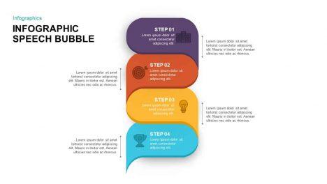 Infographic Speech Bubble PowerPoint Template