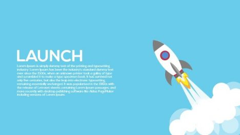 Launch Metaphor Powerpoint and Keynote Template