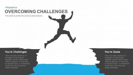 Overcoming Challenges Powerpoint Template and Keynote