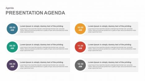 Presentation Agenda Powerpoint and Keynote template