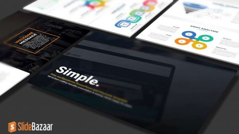 Simple Multipurpose PowerPoint Template and Keynote