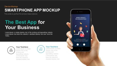 Smartphone Application Mockup