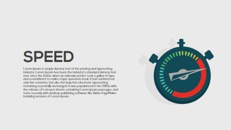 Speed Metaphor Powerpoint and Keynote Template