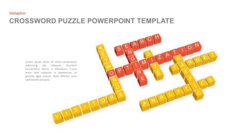 crossword puzzle powerpoint template