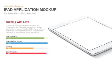 iPad Application Mockup Powerpoint and Keynote template