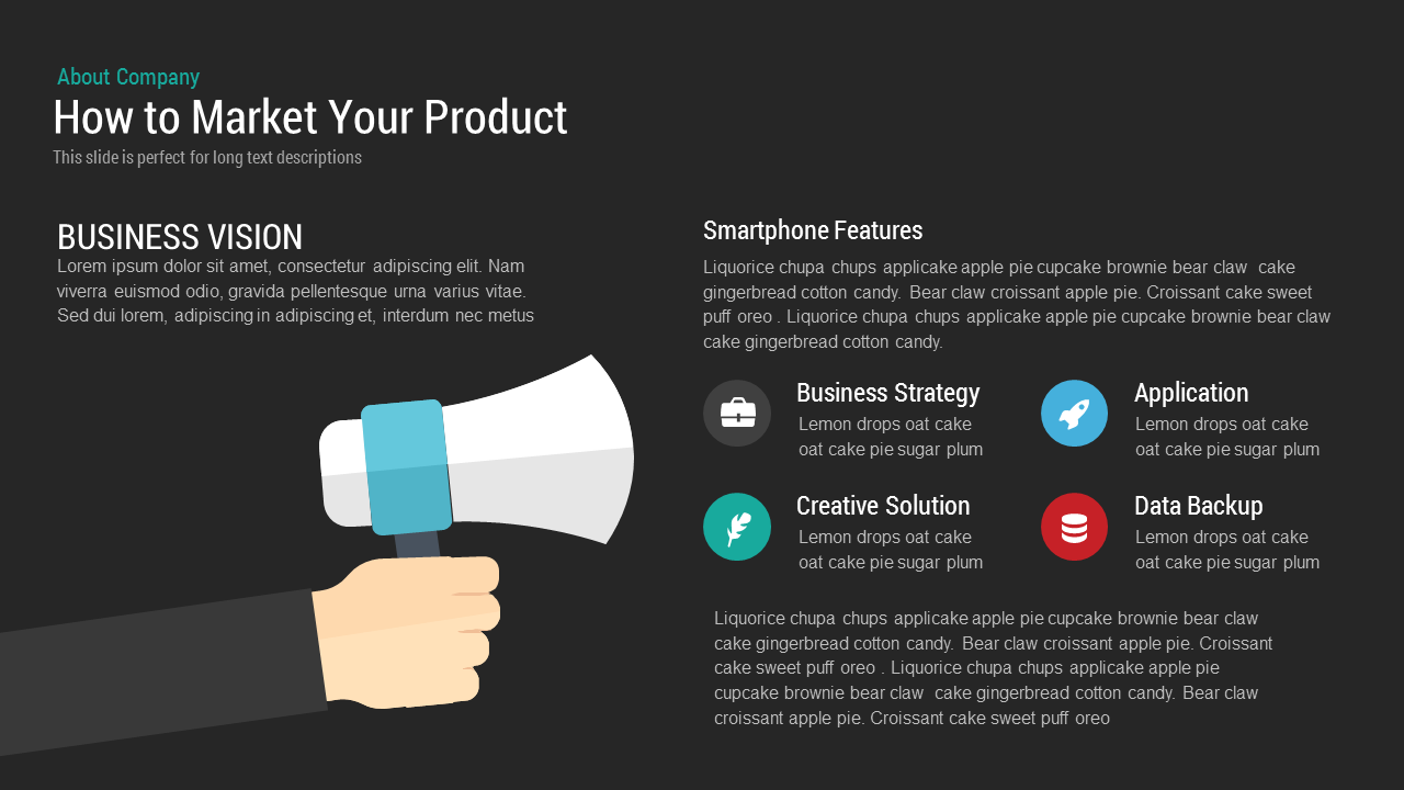 How To Market Your Product Marketing Plan Free Powerpoint