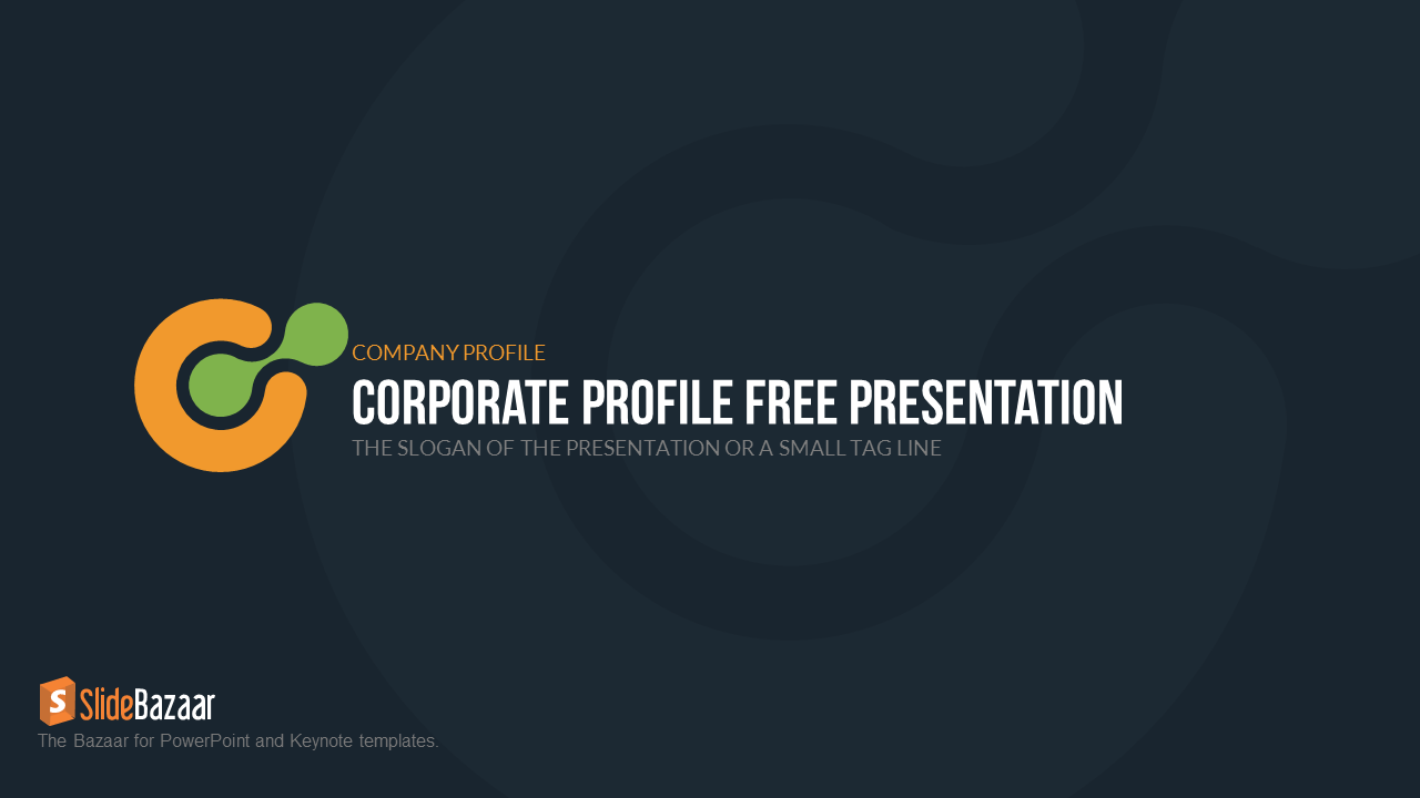 Company profile free powerpoint template slidebazaar company profile free powerpoint template 1 pronofoot35fo Images