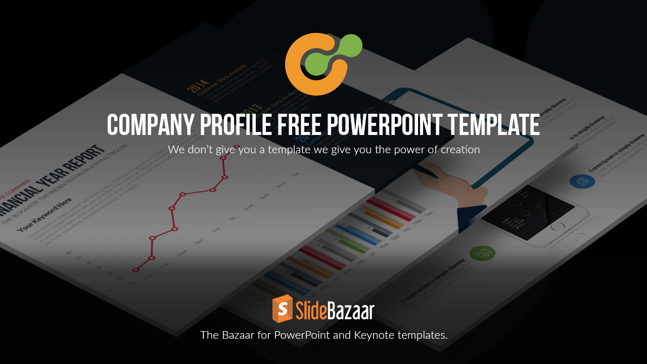 Company profile powerpoint template free slidebazaar cheaphphosting Gallery