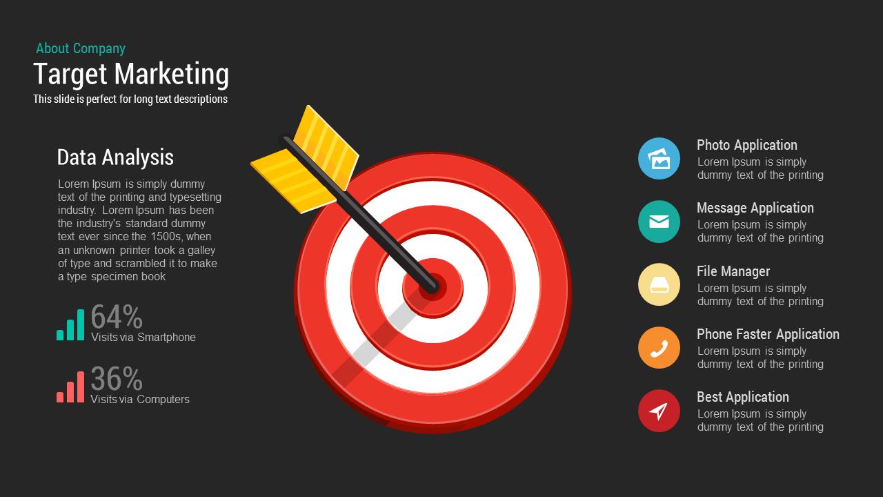 target marketing powerpoint keynote template slidebazaar