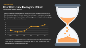 Hourglass Time Management PowerPoint Template and Keynote Slide