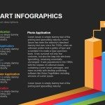 3d Bar Chart Infographics Powerpoint Keynote template