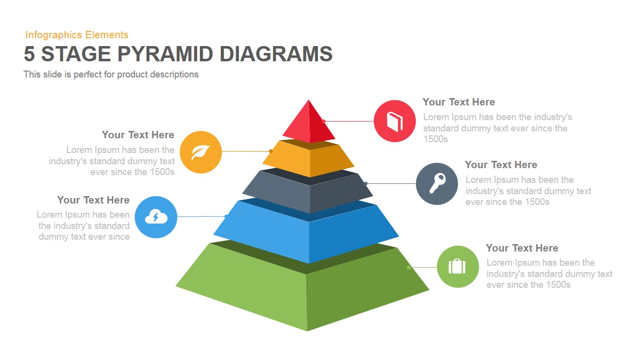 pyramid diagram template