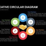 6 Step Creative Circular Diagram