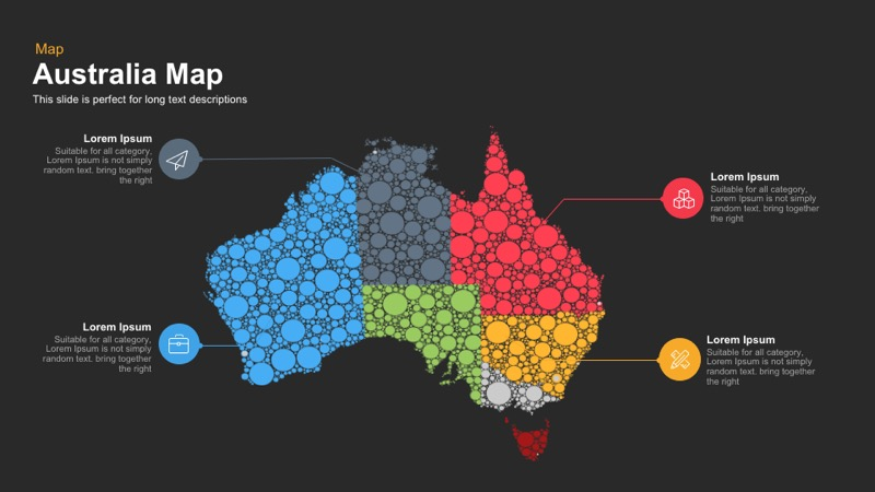 Australia map powerpoint and keynote template gumiabroncs Image collections