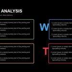 Box Swot Analysis Powerpoint Keynote