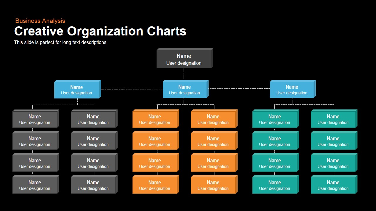 creative organization chart powerpoint keynote template