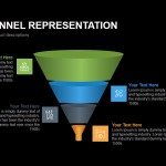 Simple Funnel Representation Powerpoint Keynote template