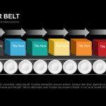 Conveyor Belt Powerpoint and Keynote template