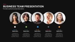Business Team Presentation Template For PowerPoint and Keynote