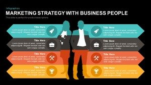 Marketing Strategy PowerPoint Template with Business People