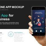 Smartphone Application Mockup