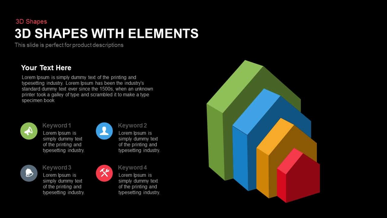 3d Shapes with Elements