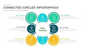 Connected Circles Infographics PowerPoint Template and Keynote