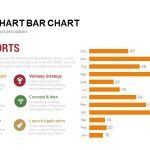 report bar chart PowerPoint template and keynote