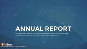 Annual Report PowerPoint Template and Keynote