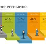 People Stage Infographics Powerpoint and Keynote template