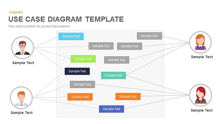 Use case diagram powerpoint and keynote template slidebazaar use case diagram powerpoint and keynote template toneelgroepblik Gallery