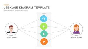 Use Case Diagram PowerPoint Template and Keynote Slide