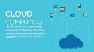 Metaphor Cloud Computing PowerPoint Template and Keynote