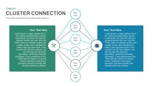 Cluster Connection PowerPoint Template and Keynote