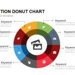 Eight Section Donut Chart PowerPoint Template and Keynote Slide