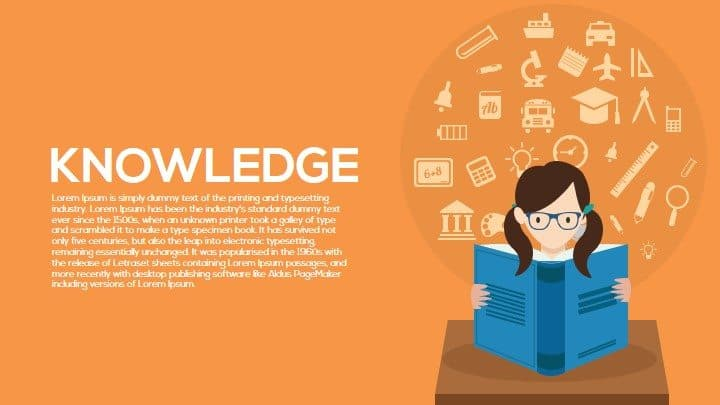 knowledge PowerPoint templates and keynote