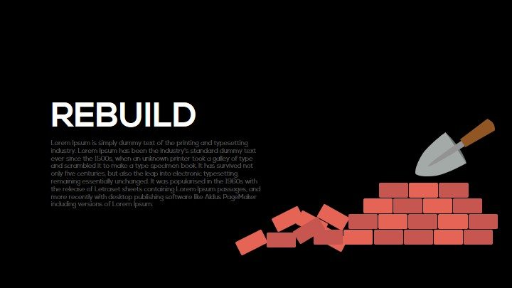 Rebuild Metaphor Powerpoint and Keynote Template