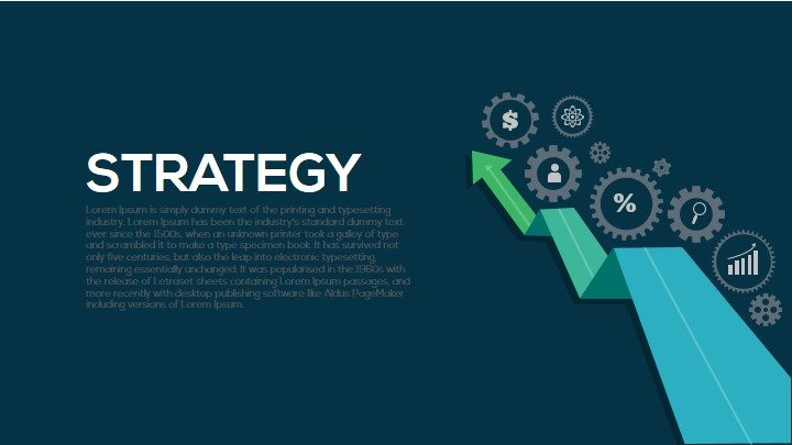 Strategy Metaphor Powerpoint and Keynote Template
