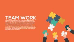 Metaphor Teamwork PowerPoint Template and Keynote Slide