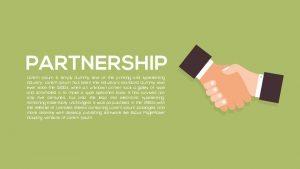 Metaphor Partnership PowerPoint Template and Keynote Template