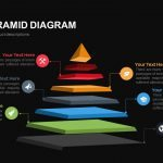 Stage Pyramid Diagram Powerpoint and Keynote template