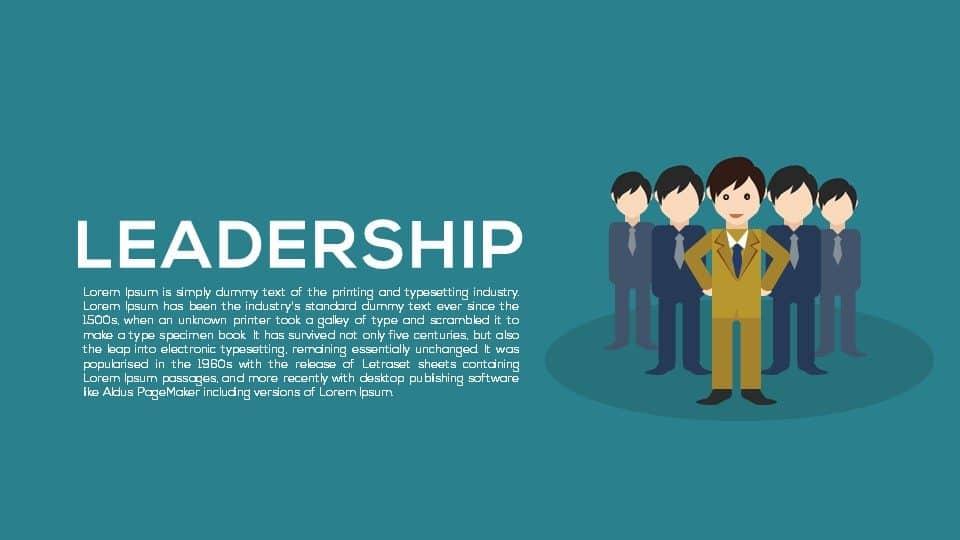 Metaphor Leadership Powerpoint Templates & Keynote Template